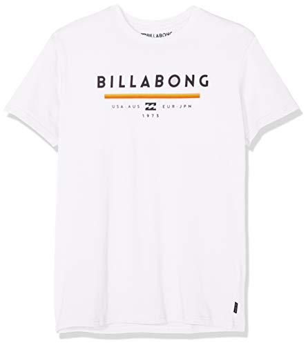 BILLABONG Herren Kurzarm-t-Shirt Unity SS, White, L, N1SS01 BIP9 10 - Herren-shirts, Gewebten Hemden