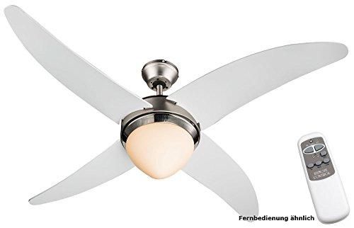 Chambre ventilateur plafond de haute qualité d'éclairage de ventilateur télécommande Globo 03060