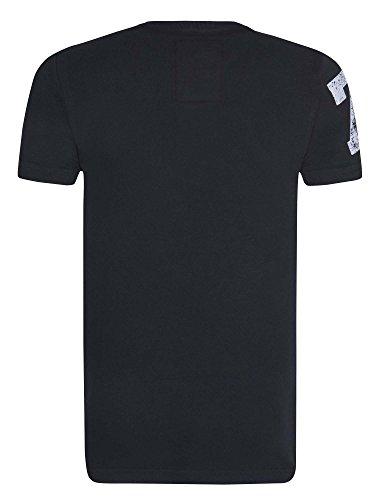 Superdry Trackster Vintage T-Shirt für Herren Black