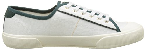 Faguo S1712, Baskets Basses Mixte Adulte Blanc (White)