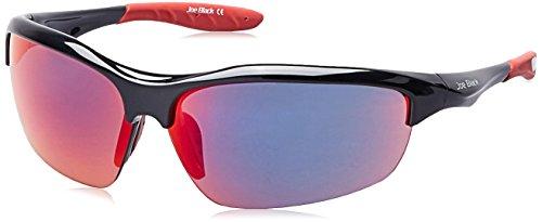Joe Black Mirrored Sport Unisex Sunglasses - (JB-810-C2|74|Red Color)
