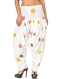 Vrnda Women's Cotton Printed Patiala and Dupatta set