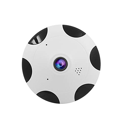 with Two WiFi Panoramic Vision AudioNight Systerm Security Camera 360° Home Cmaera FELICIOO Dome Way VpjLqSMUzG