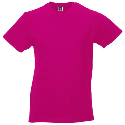 Russell Slim T-Shirt für Männer Fuchsie