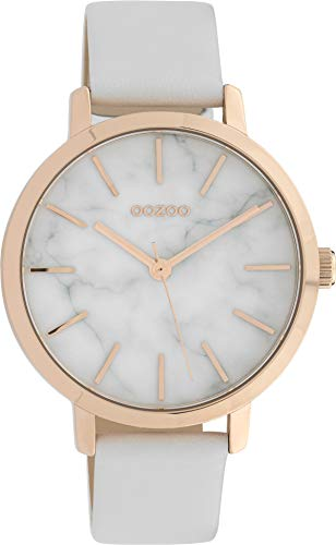 OOZOO Timepieces Wit horloge C10110 38 mm