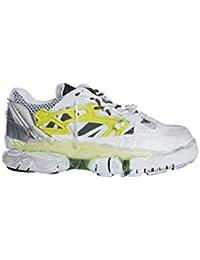 30e86f250 Maison Margiela Men s S57WS0257P1878H6576 White Leather Sneakers