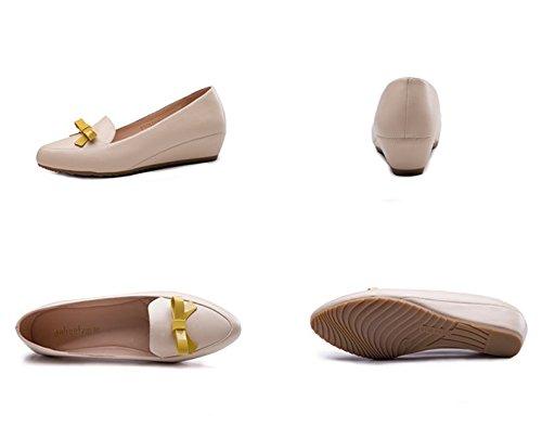ARC été pointé chaussures/Low coins augmentations dans peu profonds chaussures coréens A