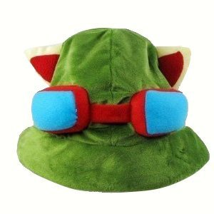 Cosplay Teemo Kostüm - Neu Charms Kostüm League of Legends LOL Teemo Cosplay HAT Hut Weich - Liga von Legends