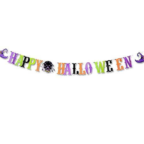UFACE Halloween Papier Hängenden Banner Pull Blume Halloween Party Dekoration Requisiten