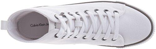 Calvin Klein Jeans Damen Dolores Canvas High-Top Weiß (Wht)
