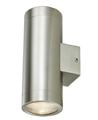 Stainless Steel Double Outdoor Wall Light IP65 Up/Down Outdoor Wall Light