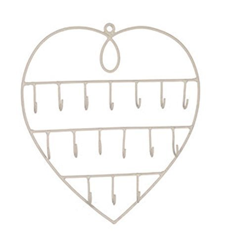heart-shaped-hook-rack-jewellery-keys-holder-organiser