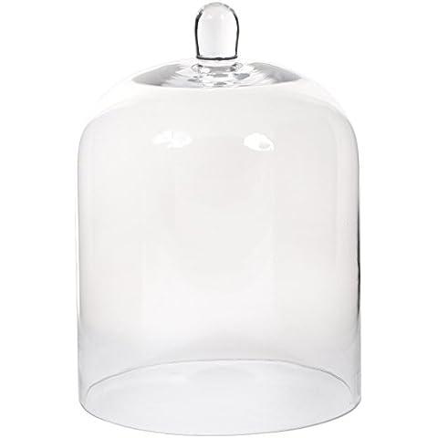 Decoraciones Mica, Campana de cristal, transparente (transparente)