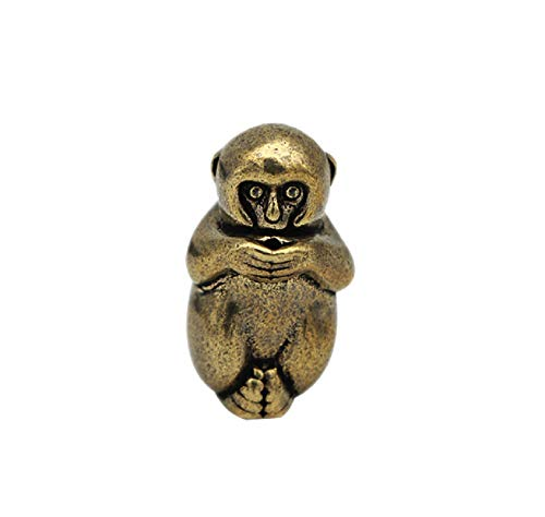 DMtse Brass Mini Antique Monkey ...