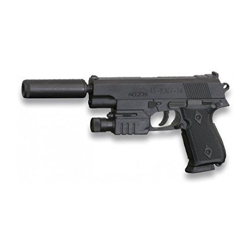 Pistola MINI de aire suave de muelle con silenciador Cyma, ideal para