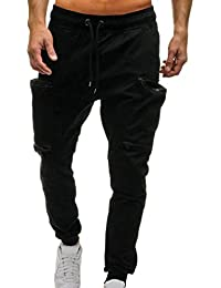 ZARLLE_Pantalones Pantalones para Hombre, Deportivos Casuales Largos De Hombres Joggers Pantalon De Correr Running Yoga