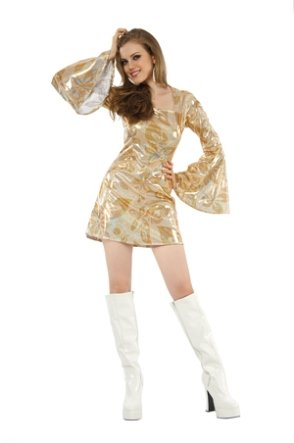 Boland 87378 - Kostüm Disco Diva, Einheitsgröße ()