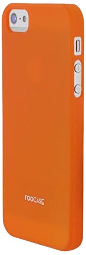 RooCASE mat shell coque ultra slim pour apple iPhone 5/5S Matte Orange