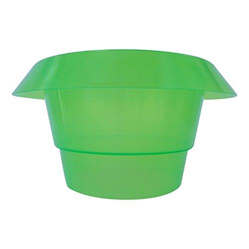 Robusto Caracol Protección Ring/Anillo Verde–Ahuyentador de caracol de plástico–Protege la ensalada, plantones y Jung Plantas en su jardín & Bancal Juego de 3/Juego De 5