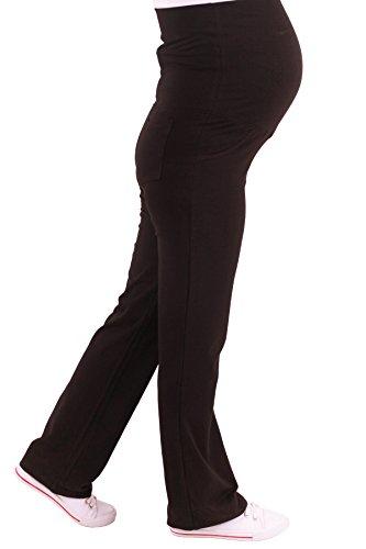 Verkauft von MamiMode Schwangerschaftsjogginghose | Sporthose | Schwangerschaftshose | Umstandsmode (L, Schwarz)