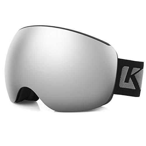 KUTOOK Gafas Esquí Hombre Mujer 100% UV400 Protección