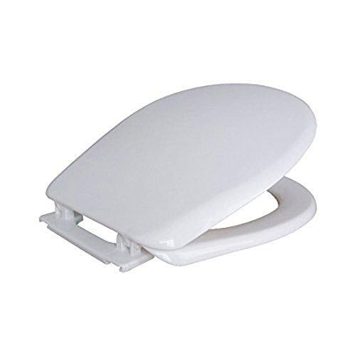 PEGANE Abattant WC Blanc en PP, 457 x 362 mm