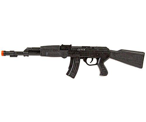 Ratta-Gewehr 42cm Sturmgewehr-47 Spielzeug-Pistole-Waffe Kinder-Kostüm Verkleidung Fasching Karneval Pistole Maschinengewehr Soldat SWAT - 2