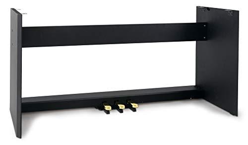 rbau (Ständer passend für McGrey SP-100 und SP-100-Plus Stagepiano, aus Holz, 3 Pedale) schwarz ()