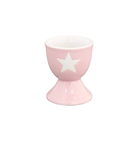 Krasilnikoff - Egg holder - Eierbecher - Pink / Stern weiß