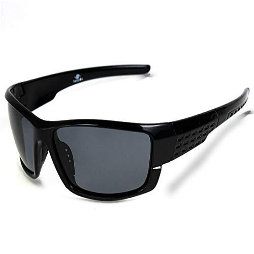 Sport-Sonnenbrillen, Vintage Sonnenbrillen, Black Plastic Polarized Sunglasses Men Outdoor Sport Sun Glasses Fishing Oculos De Sol Goggles Hot Sale 5102brightblack