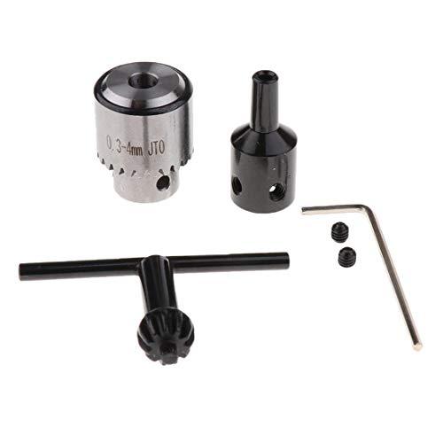 0,3-4 mm profesional portabrocas taladro llave herramienta
