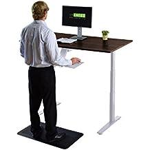 Rise Up–asequible eléctrico altura ajustable escritorio de pie marco w/bambú escritorio