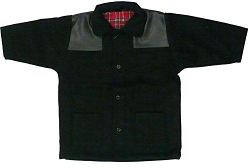 Racker-n-Roll Harrington Baby Donkey Jacket mit PVC Schulterbesatz