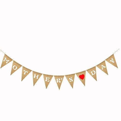 hnen-Leinwand-Flaggen der Mutter Tages hängende Dekorationen für Partysupplies der Mutter Tages ()