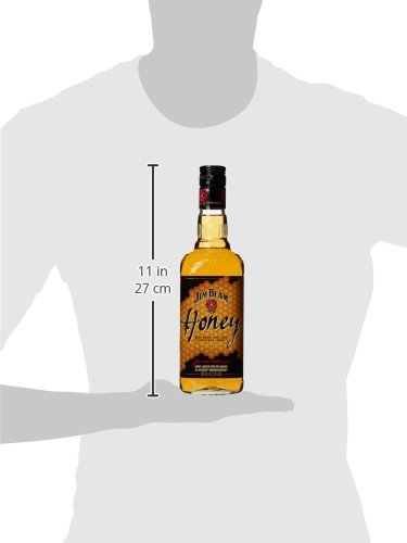 4264cbff349 Jim Beam Honey Bourbon Whiskey Liqueur, 70 cl