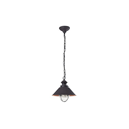 Faro 71108 - NÁUTICA-P Lampe suspension marron et cuivre