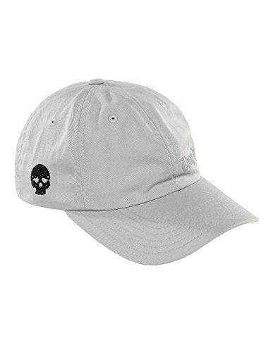 THUG LIFE Hombres Gorras/Gorra Snapback Curved Gris Regulable