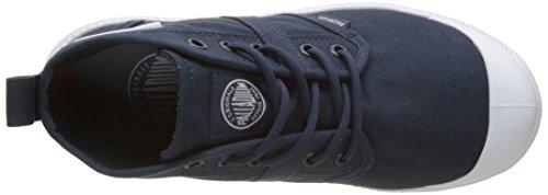 Palladium Unisex-Erwachsene Pallaville Hi Deux Sneaker Blau (Indigo/White/White)