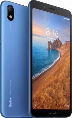 Redmi 7A (2GB 16GB) with Selfie Stick Combo (Matte Blue)