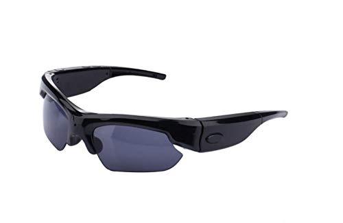 BOC Bluetooth-Videobrille 1080P Hd Kamera-Recorder Und Kamera-Sonnenbrille Polarisierte Gläser Jagd Angeln Outdoor-Sport,A,Brille