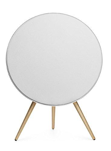 Preisvergleich Produktbild Bang & Olufsen, BeoPlay A9 MK I Weiß, AirPlay/DNLA wireless Lautsprecher inkl. Holzfüße (Buche)