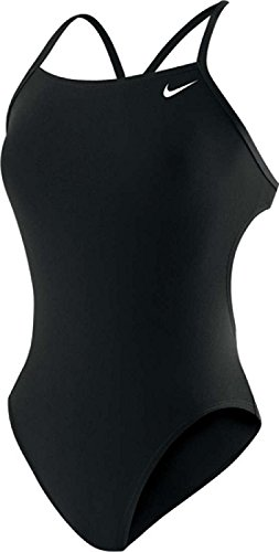 Nike Swim Poly Core Cut Out - Black
