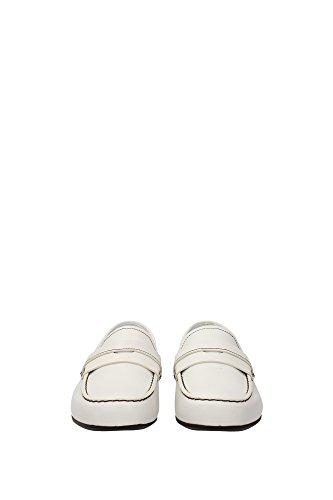 Prada Mocassini Uomo - (2DE076BIANCO) EU Bianco