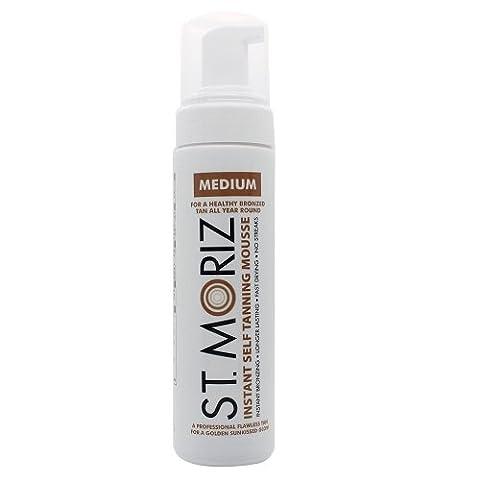 St Moriz Instant Self Tanning Mousse - 200 ml