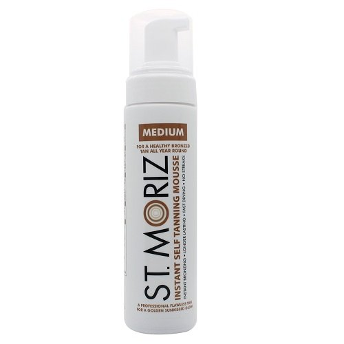 Self Tan Mousse (St. Moriz Self Tanning Mousse Medium, 1er Pack (1 x 200 ml))