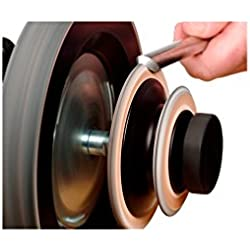 Tormek - Disque de démorfilage profilé spécial gouges R.2 et 45° - Tormek - LA-124
