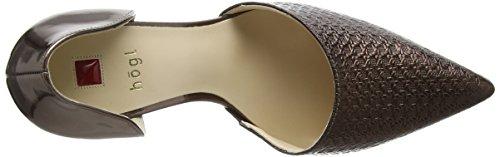 Högl1- 10 9048 - Scarpe con Tacco Donna Marrone