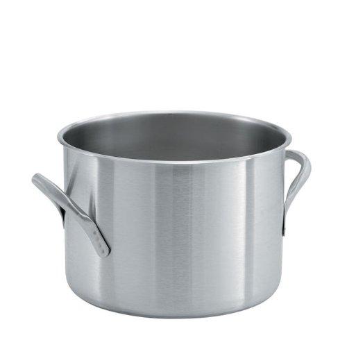Vollrath 78610 Stock Pot, 20 Qt. w/o Cover, Stainless W/Aluminum Clad Bottom 20 Quart Stock Pot