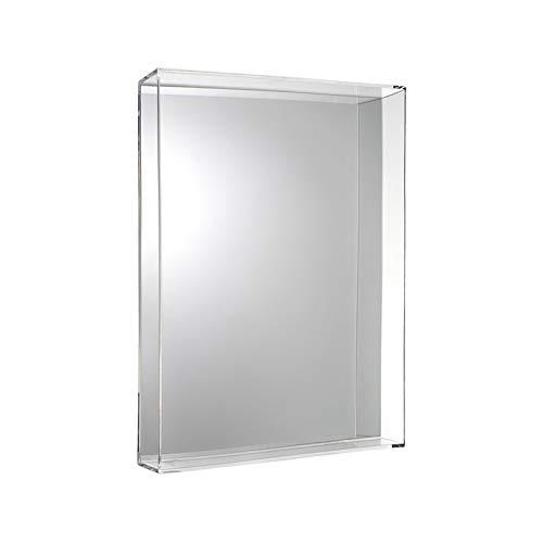 Kartell Only Me Specchio, Cristallo, 50x70x9 cm