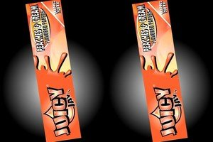 JUICY 3x Peaches n Crème Juicy Jays King Size papier à rouler rizla aromatisé Livraison gratuite